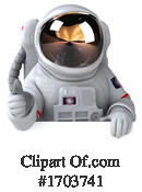 Astronaut Clipart #1703741 by Julos