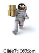 Astronaut Clipart #1711676 by Julos