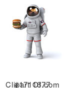 Astronaut Clipart #1711677 by Julos