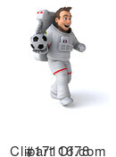 Astronaut Clipart #1711678 by Julos