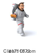 Astronaut Clipart #1711679 by Julos