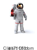 Astronaut Clipart #1711681 by Julos