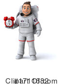 Astronaut Clipart #1711682 by Julos