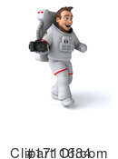 Astronaut Clipart #1711684 by Julos