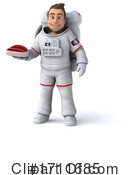 Astronaut Clipart #1711685 by Julos