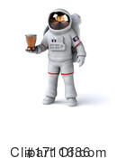 Astronaut Clipart #1711686 by Julos