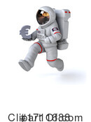 Astronaut Clipart #1711688 by Julos