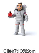 Astronaut Clipart #1711689 by Julos