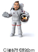 Astronaut Clipart #1711690 by Julos