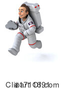 Astronaut Clipart #1711691 by Julos