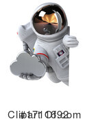 Astronaut Clipart #1711692 by Julos