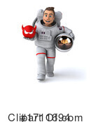 Astronaut Clipart #1711694 by Julos