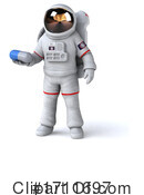 Astronaut Clipart #1711697 by Julos