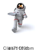 Astronaut Clipart #1711698 by Julos