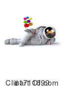 Astronaut Clipart #1711699 by Julos
