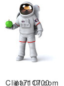 Astronaut Clipart #1711700 by Julos