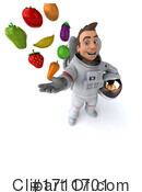 Astronaut Clipart #1711701 by Julos