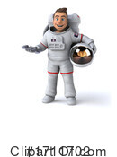 Astronaut Clipart #1711702 by Julos