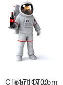 Astronaut Clipart #1711703 by Julos