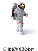 Astronaut Clipart #1711704 by Julos