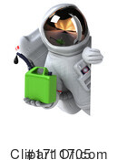 Astronaut Clipart #1711705 by Julos