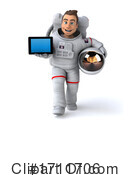 Astronaut Clipart #1711706 by Julos