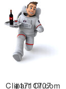 Astronaut Clipart #1711707 by Julos