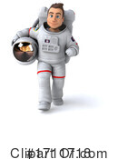 Astronaut Clipart #1711718 by Julos