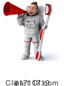 Astronaut Clipart #1711719 by Julos
