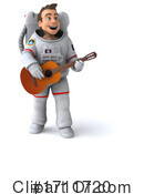 Astronaut Clipart #1711720 by Julos