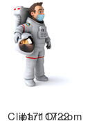 Astronaut Clipart #1711722 by Julos