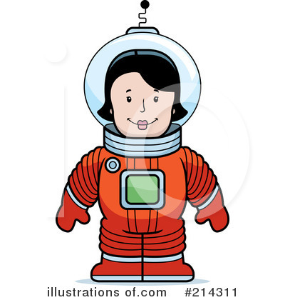 Astronaut Clipart #214311 by Cory Thoman