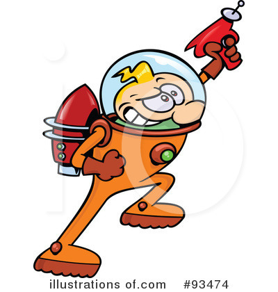 Astronaut Clipart #93474 by gnurf