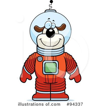 Astronaut Clipart #94337 by Cory Thoman