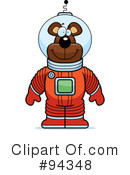 Astronaut Clipart #94348 by Cory Thoman
