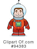 Astronaut Clipart #94383 by Cory Thoman