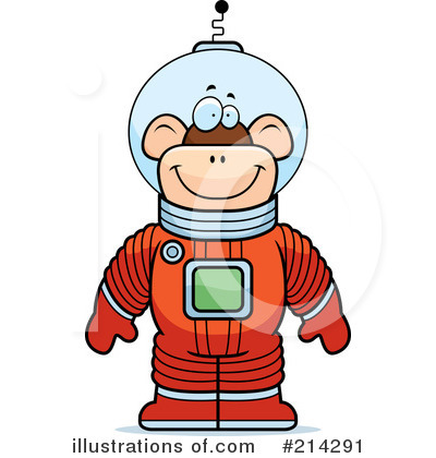 Astronaut Clipart #214291 by Cory Thoman