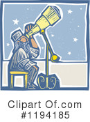 Astronomer Clipart #1194185 by xunantunich