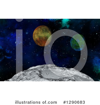 Astronomy Clipart #1290683 by KJ Pargeter