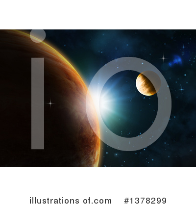 Astronomy Clipart #1378299 by KJ Pargeter