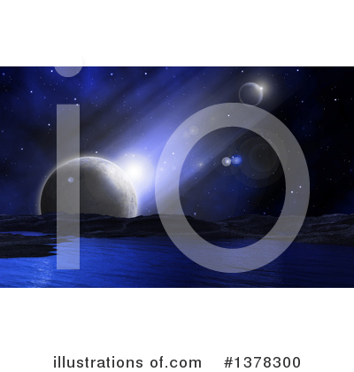 Royalty-Free (RF) Astronomy Clipart Illustration by KJ Pargeter - Stock Sample #1378300