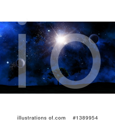 Royalty-Free (RF) Astronomy Clipart Illustration by KJ Pargeter - Stock Sample #1389954