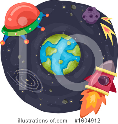 Royalty-Free (RF) Astronomy Clipart Illustration by BNP Design Studio - Stock Sample #1604912