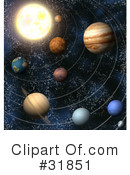 Royalty-Free (RF) Astronomy Clipart Illustration #31851