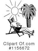 At The Beach Clipart #1156672