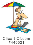 At The Beach Clipart #440521 by toonaday