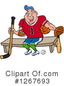 Athlete Clipart #1267693 by LaffToon
