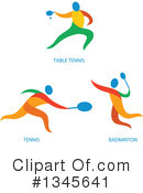 Royalty-Free (RF) Athlete Clipart Illustration #1345641