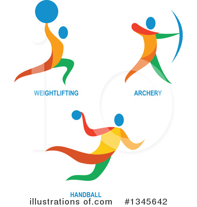 Archery Clipart #1345642 by patrimonio