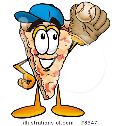 Pizza Clipart #8547 by Toons4Biz